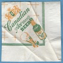 Canadian Ace napkin front